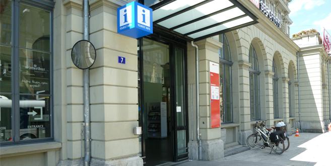 Tourist Information im Haupt Bahnhof Winterthur