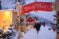 Christmas Village, Caux / Montreux © Jean-François Gailloud