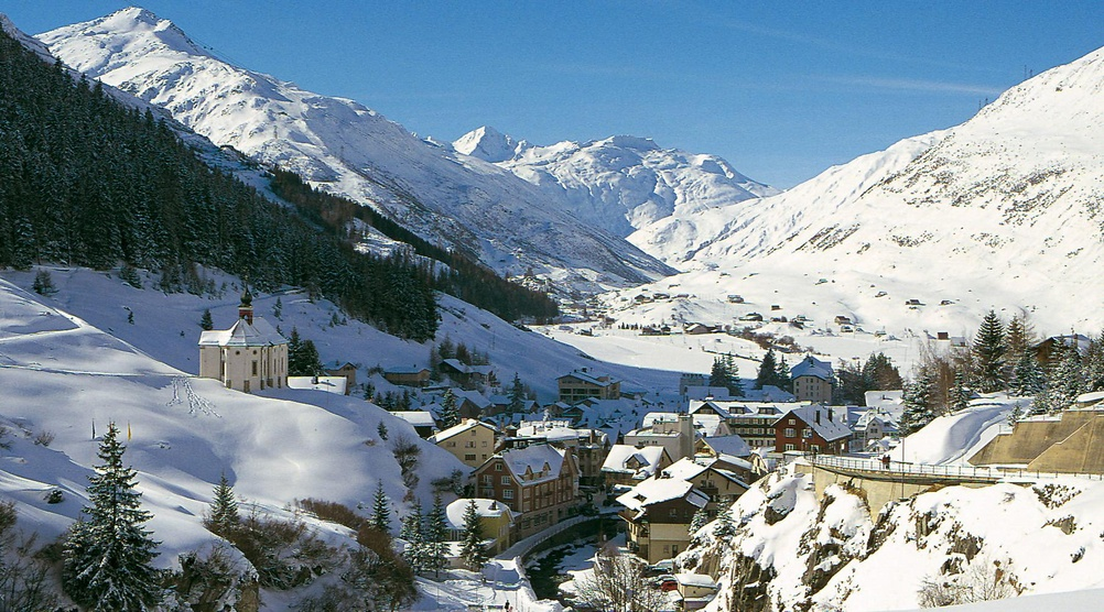 Andermatt holiday region