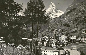 Zermatt in summer time