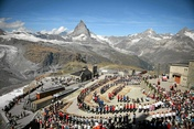 Gornergrat Festival with alphorn world record