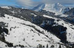 Schneespass Habkern Lombachalp