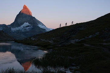 The Matterhorn Ultraks Trail takes place in a stunning mountain panorama