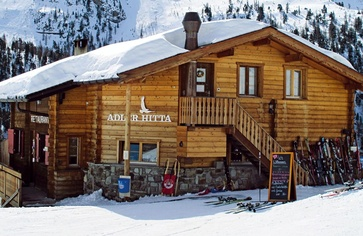 Mountain restaurants of Zermatt  from A like Adler Hitta up to Z like Zum See.