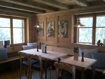 The Chez Vrony Restaurant in Findeln has added another room to the restaurant.