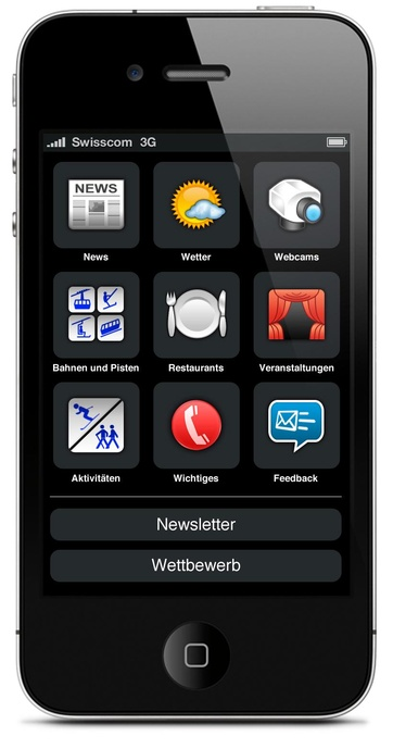 iPhone App per Zermatt  Cervino