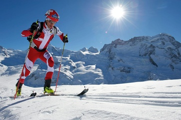 Zermatt's Martin Anthamatten in top form.