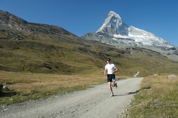 The Matterhorn Ultraks Trail lead through the mountains of Zermatt.