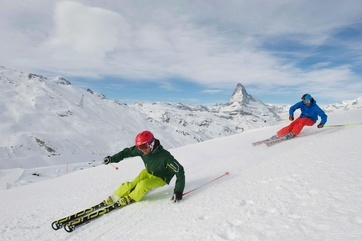 Best snow conditions on the Matterhorn.