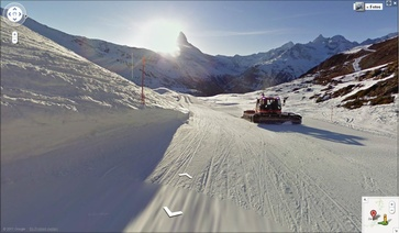 Zermatt pistes now also online