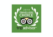 TripAdvisor Travelers' Choice 2014.