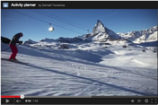 Skiing in Zermatt – get an idea by watching the video