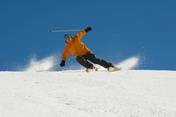 Trying out skis – the dream of every good skier.