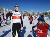 Kids im Dario Cologna Kids Parcours (Copyright: Swiss-Ski).
