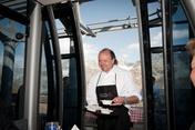 At Sunday's Breakfast with a View, the Gault&Millau chef Heinz Rufibach from the Alpenhof Hotel will be serving his delicious Müesli at the Schwarzsee whistle stop.