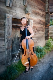 The Cello player Saara Ida Wilhelmina Laine is part of the Zermatt Festival 2011.