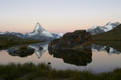 Stellisee with the Matterhorn. Photo: Michael Portmann