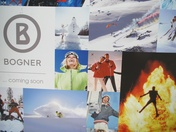 The Bogner shop will open at the beginning of December