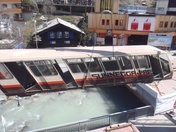 The old Sunnegga Funicular