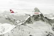 Zermatt's mountain restaurants Findlerhof and Chez Vrony are also on board Swiss flights in winter 2013/2014.