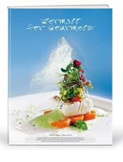 Frontispiece of the newly published cookery book by 29 Zermatt top chefs.