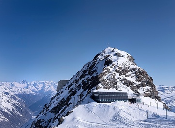 Der sonnenreichste Ort der Schweiz: Das Klein Matterhorn.
