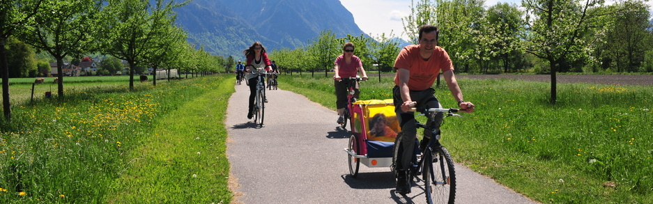 Cycling in Liechtenstein