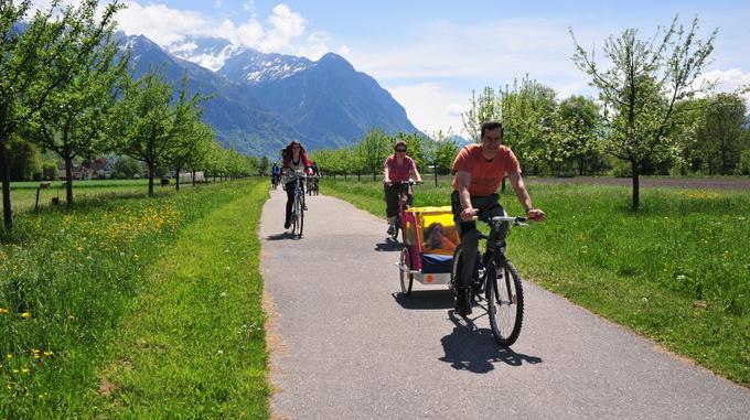 Cycling in Liechtenstein