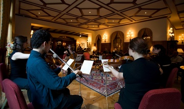 Academy of the Zermatt Festival in the Monte Cervin Palace