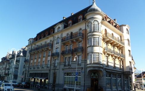 H tel moderne 1906 notre histoire for Belle architecture moderne