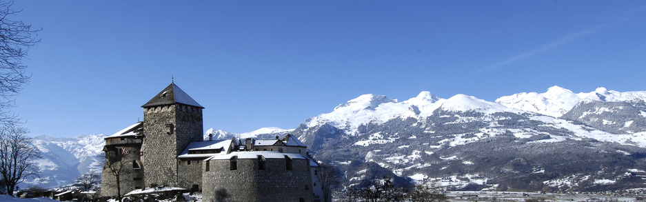 Schloss Vaduz winter
