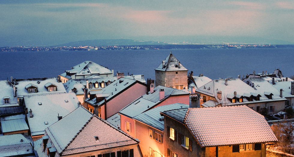 Nyon, winter