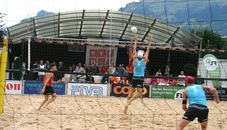 Beachvolleyball Turnier
