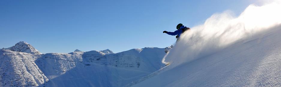 Snowboarding in Malbun