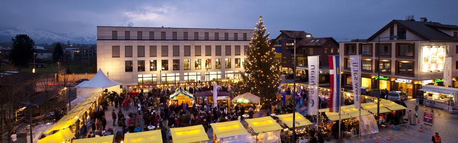 Weihnachtsmarkt Schaan