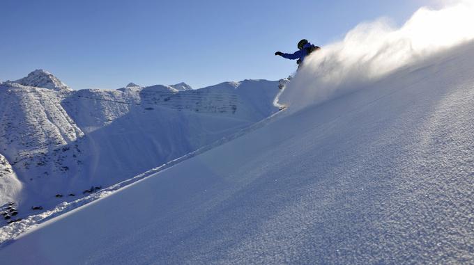 Snowboarden in Malbun