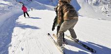 Skifahren mit Familie in Malbun