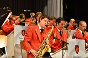 Swiss Army Big Band im Eventzelt Rigi