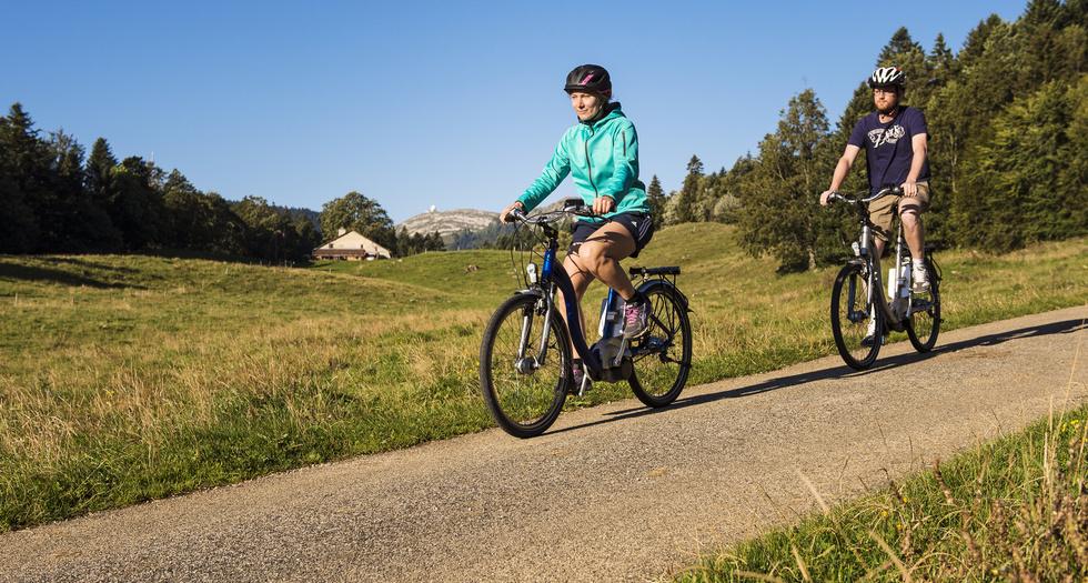 Cyclotourisme, Jura Vaudois