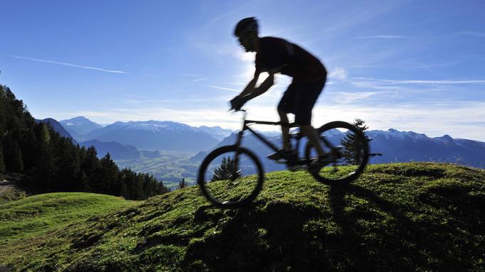 Mountainbike fahren in Liechtenstein