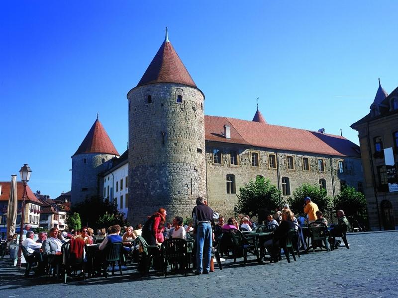 Yverdon les bains castle for Yverdon les bain