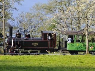 La linea ferrovia museo Blonay-Chamby