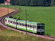La linea ferroviaria Lausanne-Echallens-Bercher © LEB