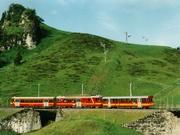 La linea ferroviaria a cremagliera Bex-Villars-Bretaye