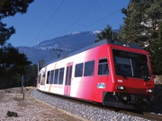Der Bahn Yverdons-les-Bains - Sainte-Croix