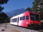 Der Bahn Yverdons-les-Bains - Sainte-Croix