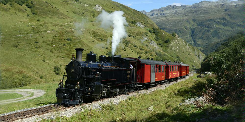 Steam Railway Furka