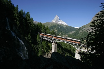 Gornergrat Bahn Findelbach
