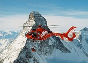 Air Zermatt mountain rescue