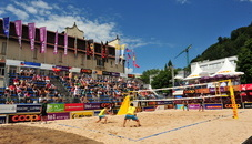Beachvolleyball tournament